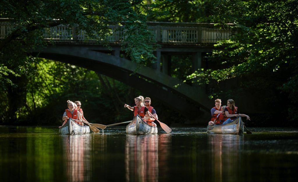 Odense Å i kano